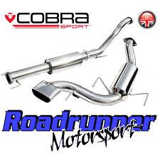"""VZ08g Cobra Astra VXR MK5 3"""" Exhaust System Stainless Cat Back Resonated (05-11)"""