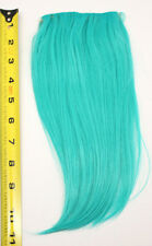 10'' Long Clip on Bangs Seafoam Green Blue Cosplay Wig Hair Extension NEW