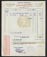 """NANTES (44) CONSERVES ALIMENTAIRES / LEGUMES """"CASSEGRAIN"""" en 1932"""