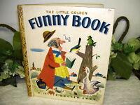 A Little Golden Book Funny Book By Gertrude Crampton 1950 Edition B