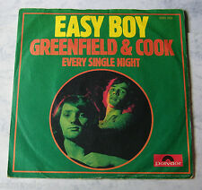 Greenfield & Cook - Easy Boy .. 1973 Polydor 2050259