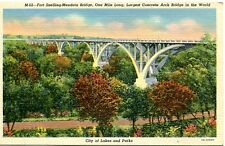 schöne Ansichtskarte Amerika, Fort Snelling Mendota Bridge