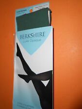 NWT  MADE IN THE  USA BERKSHIRE LUXE TIGHTS CONTROL TOP DEEP FOREST SIZE PETITE