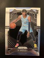 2019-20 Panini Prizm Ja Morant Base #249 Rookie RC Memphis Grizzlies ROY INVEST