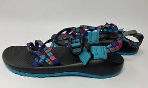 New Chaco Unisex Kids Boys Girls ZX1 Ecotread Sport Sandals Break Teal Size US 5