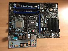MSI  MS-7519 Ver.1.4  P45T-C51  Intel  Mainboard Sockel 775  CPU E7500  #2575