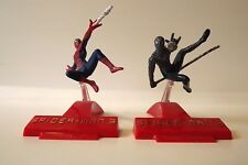 Spider-Man + Symbiote Miniature Action Figures on Stands Spiderman 3 Movie 2.75""