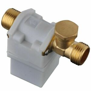 DC 12V 1/2″ Magnetic Electric Solenoid Valve for Water Air Normally Closed UK