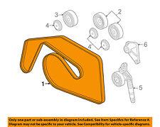 VW VOLKSWAGEN OEM 09-10 Touareg 3.0L-V6-Serpentine Fan Belt 059903137T