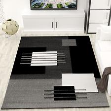 Alfombra moderna de diseño para el salón, a cuadros con efecto tridimensional