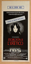 LOCANDINA, ESORCISTA 2 L'ERETICO Exorcist II: The Heretic LINDA BLAIR, HORROR