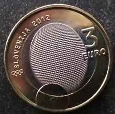 3 Euros SLOVENIE  2012 médaille JO