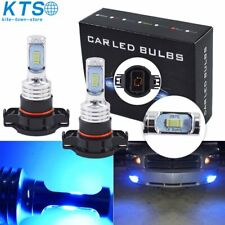 2504 Psx24W Led Fog Light Bulbs Driving Lamp 35W 4000Lm 8000K Ice Blue Hid Xenon