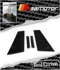 CARBON FIBER DOOR PILLAR PANEL COVERS SET for MERCEDES W219 2005-2010 CLS-CLASS