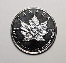 1997 Canada $5.00 1 oz Silver Maple Leaf .9999 Low Mintage
