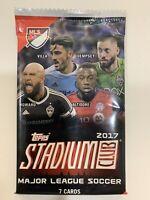 2017 Topps Stadium Club *FACTORY SEALED PACK* Futbol MLS Soccer Dempsey Altidore