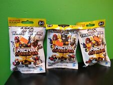 KRE-O Transformers Micro Changers Collection 4 LOT of 3 UNOPENED bags Hasbro