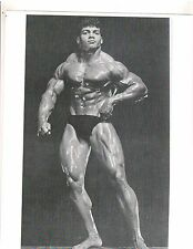 bodybuilder HAROLD POOLE FamousTraps Pose Bodybuilding Muscle Photo B&W