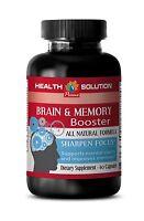 Boost Neurocognitive Functions - Brain & Memory Complex 777mg - Brain Health 1B