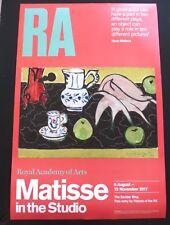 Henri MATISSE-nello studio 2017 MOSTRA D'ARTE POSTER