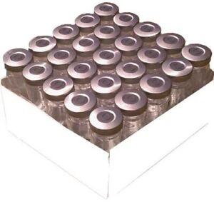 500ml Sterile Empty Clear Vials 25pk Silver