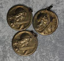 "Three Verdun Medals ""On ne passe pas"" 1916"