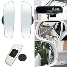 2PCS Universal Car Auto 360° Wide Angle Rear Side View Convex Blind Spot Mirror