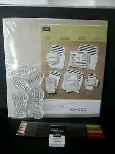 """Stampin Up """"Lots Of Happy"""" Card Kit, Unused"""