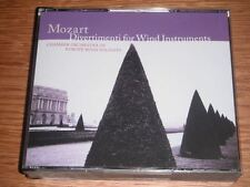 Mozart : Divertimenti for Wind Instruments (5xCD)
