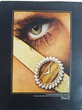 1969 Piaget women's watch tigers eye vintage ad