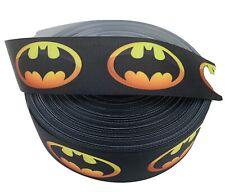 Grosgrain Ribbon Hero Batman Printed Usa Seller 1.5� 2 Yards