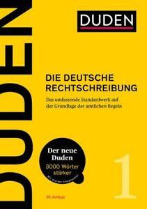 Duden - Die deutsche Rechtschreibung (28. Aufl.) Das umfassende Standardwerk auf