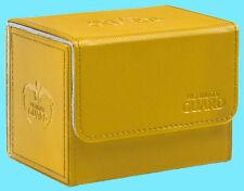 ULTIMATE GUARD XENOSKIN AMBER SIDEWINDER 100+ DECK CASE Side Loading Card Box