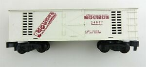 American Flyer S 24057 Mounds Box Car Pike Master Couplers  T112