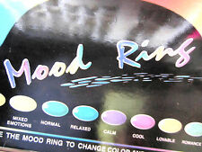Mood Ring Your Choice>>State Your Size