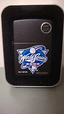 NOS Zippo Lighter 2000 World Series Subway Series Yankees vs Mets  #1372/2500