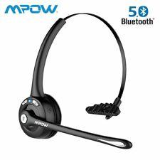 Mpow Kabellos Bluetooth5.0 Headset Business Kopfhörer mit Mikrofon Freisprechen