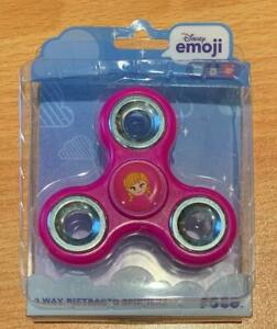 ANNA Princess Disney Emoji 3 Way Diztracto Fidget Spinner - CLOSEOUT