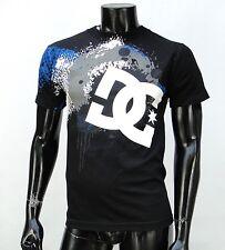 Dc shoes Team Usa skateboard Drips Circle Logo Classic mens Black t shirt Small