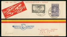 Mayfairstamps Belgian Congo 1936 Elisabethville To Kabalo Flight Cover wwk65965