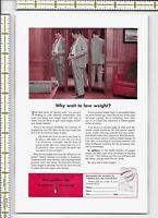 Metropolition Life Insurance Company 1954 magazine print ad