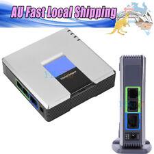 LINKSYS CISCO UNLOCKED PAP2T PAP2T-NA Phone Adapter GatewaySIP VoIP AU Plug