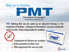 5 x PMT Medicated Soap Scabies Eczema Skin Rash Acne 75 GM