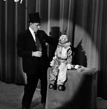 OLD TV RADIO PHOTO Ventriloquist Senor Wences & puppet 2