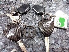 Toyota Corolla Camry Scion iQ xA xB tC FR-S FRS Carbon Fiber Remote Key Covers