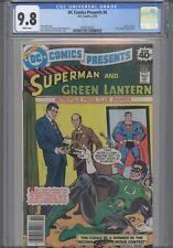 DC Comics Presents #6 CGC 9.8 1979 Comic: Superman and Green Lantern: NEW Frame