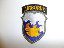b0929 WW2 US Army 18th Airborne Operation Fortitude Ghost Phantom Division R3E