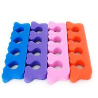 New 10pcs Nail Art Soft Finger Toe Separator Manicure Pedicure Tools