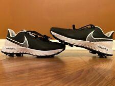 Nike React Infinity Pro Black White Golf Shoes Men's 9.5 CT6620-003