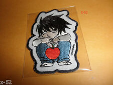 DEATH NOTE anime series L PATCH + KIRA STICKER exclusive pack-in shonen jump toy